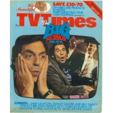 TVT 1975/38 - September 13-19, 1975 (ATV/Midland) [Incomplete] COMEDY - with photo montage of Larry Grayson, Stanley Baxter and Billy Dainty.
